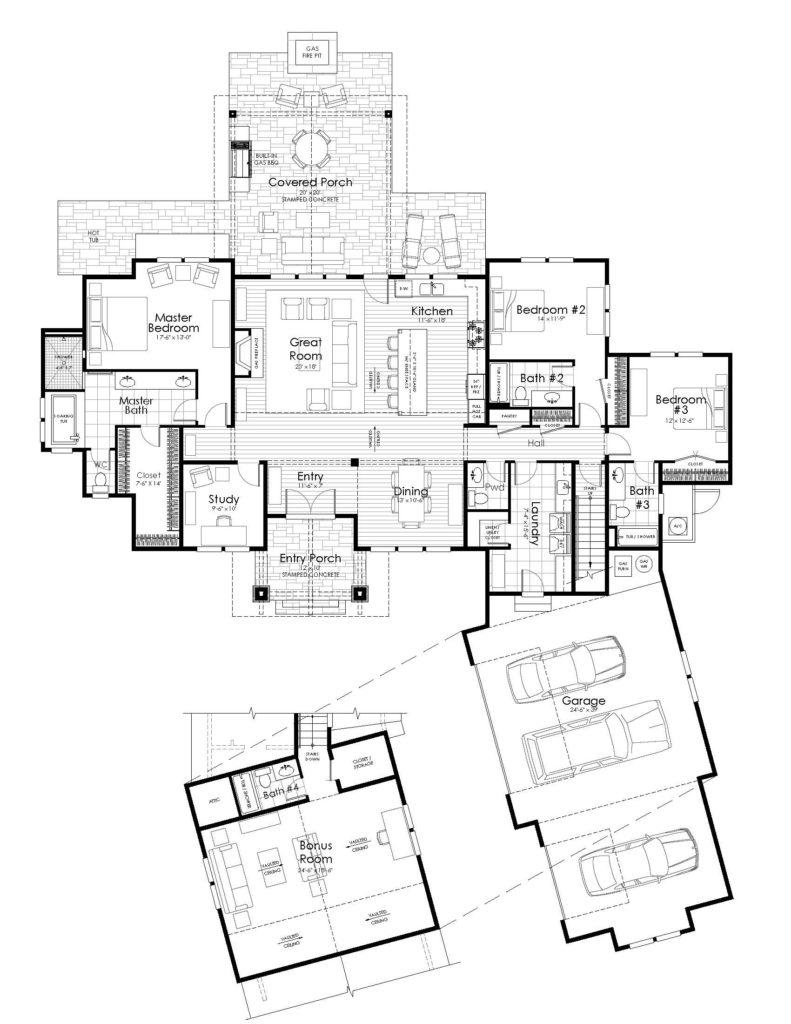 floor plans (letter sized)